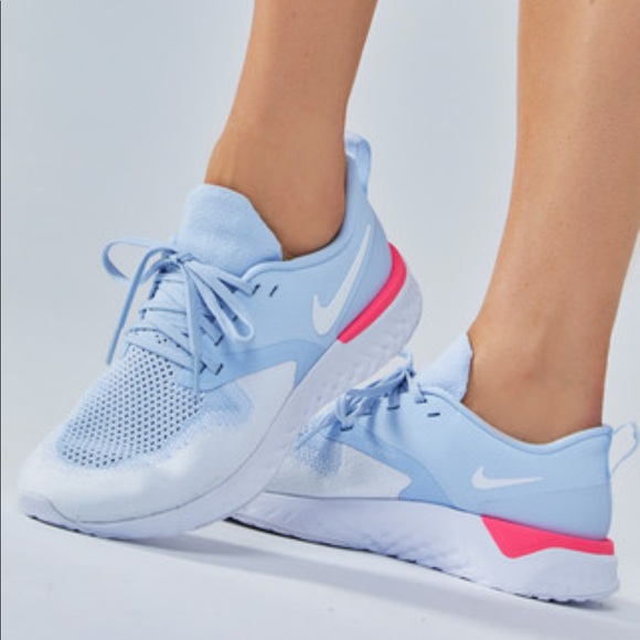 women's odyssey react flyknit 2 running sneakers from finish line